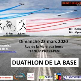 Affiche Duathlon 2020