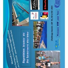 Aquatlon Jeunes SGDB 2020
