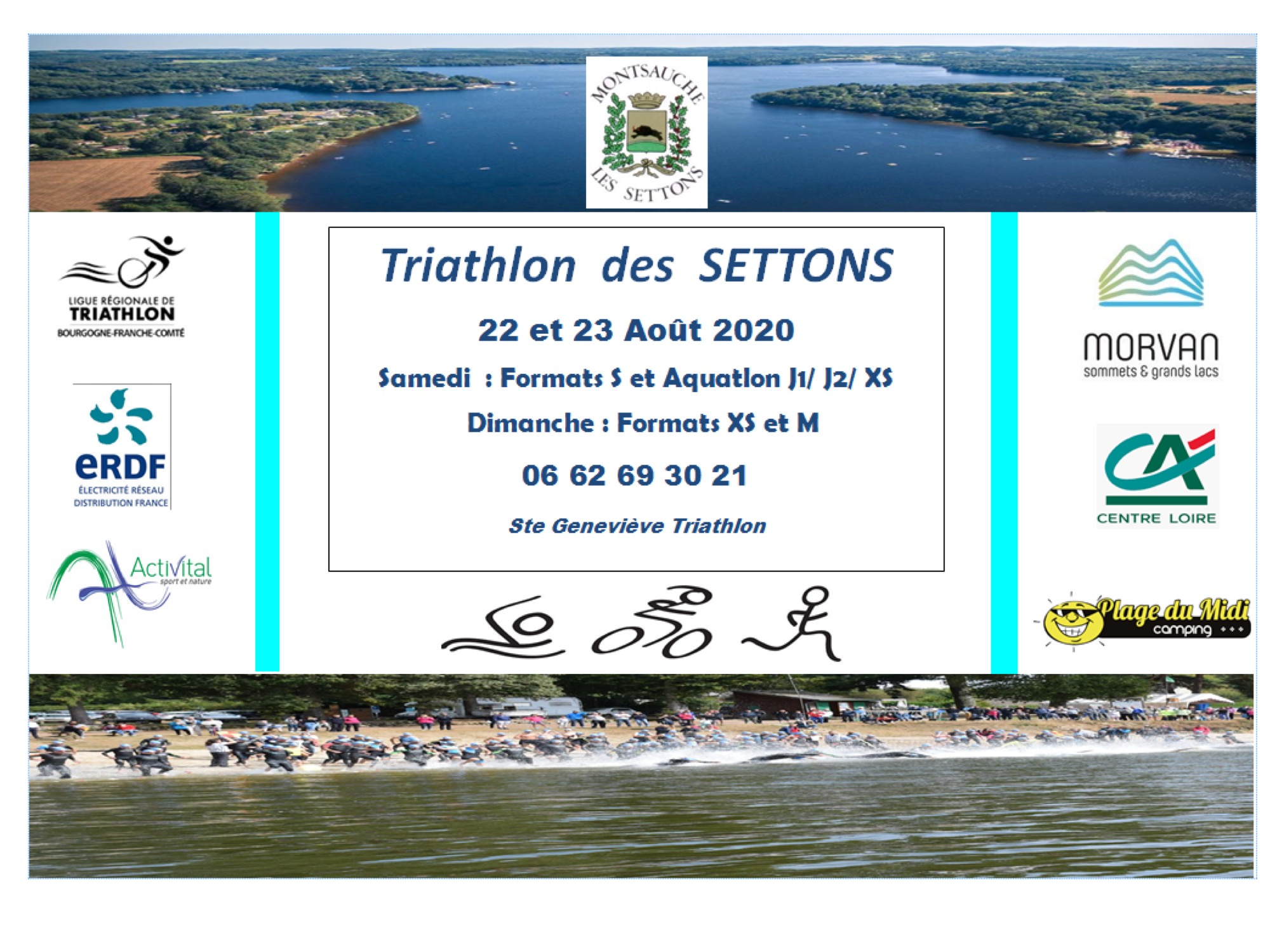 Illustration TRIATHLON DES SETTONS